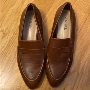 JustFab loafers size 7